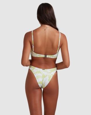 Billabong Sundrenched Vintage D Dd Bralette Bikini Top - Bikini Tops (LIME)