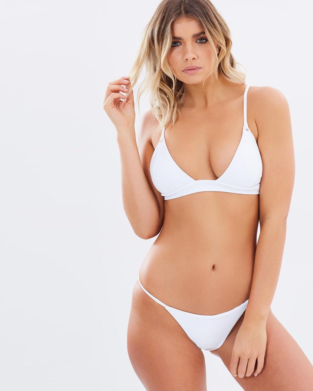 Kopper & Zink Benji Bikini Bottom Bikini Bottoms White Benji Bikini Bottom