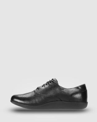 Ascent Jade - School Shoes (Black)