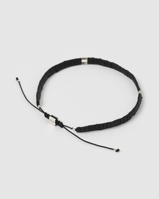 AOE MAN Titus Men's Bracelet - Jewellery (Black)