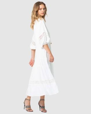 Three of Something Sweet Escape Maxi Dress - Dresses (WHITE)