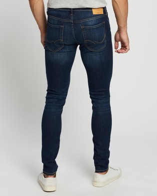 Jack & Jones Skinny Fit Liam Jeans - Jeans (Blue)