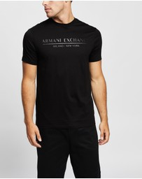 Armani Exchange - Straight Logo T-Shirt