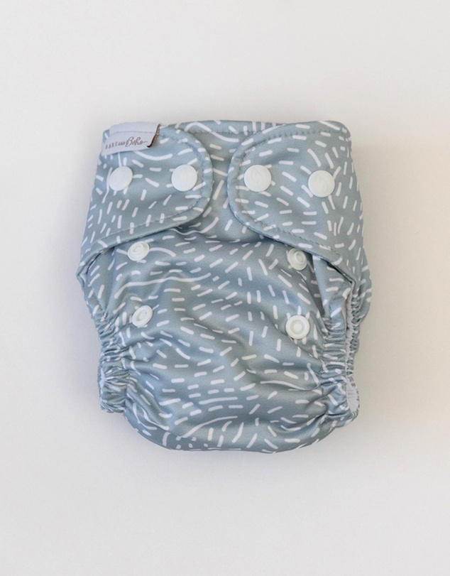 Kids ICONIC EXCLUSIVE - Recycled Nappy Newborn Bamboo Insert & Booster 1 Pack