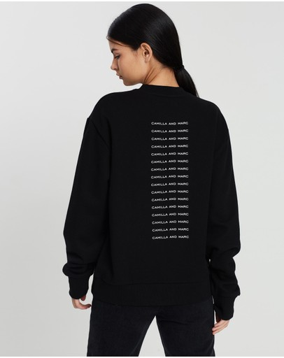 C&M CAMILLA AND MARC - Dunning Crew Sweater
