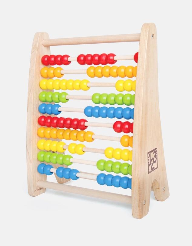 Kids Rainbow Bead Abacus - 3 years