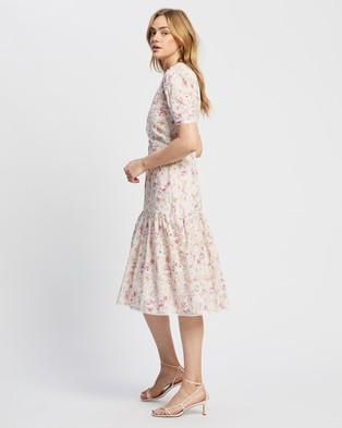 MINKPINK Floral Wrap Tier Dress - Printed Dresses (Multi Floral)