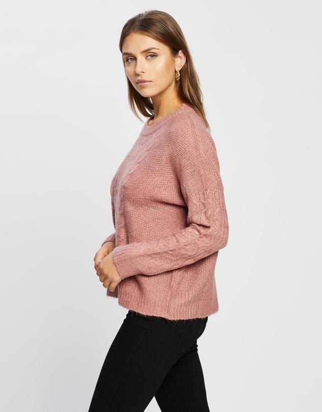 Women Emma Cable Knit Jumper