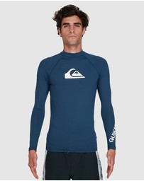 Quiksilver - Mens All Time Long Sleeve UPF 50 Rash Vest