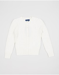 Polo Ralph Lauren - Mini Cable Cardigan - Kids (5-6 Years)