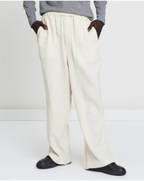 snow peak - Dobby Wide Pants