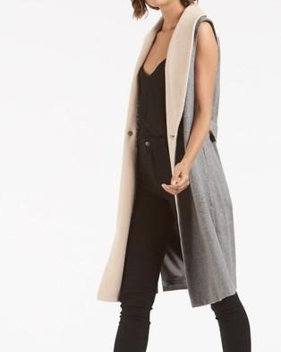 Amelius Tempest Wool Vest - Coats & Jackets (Grey)