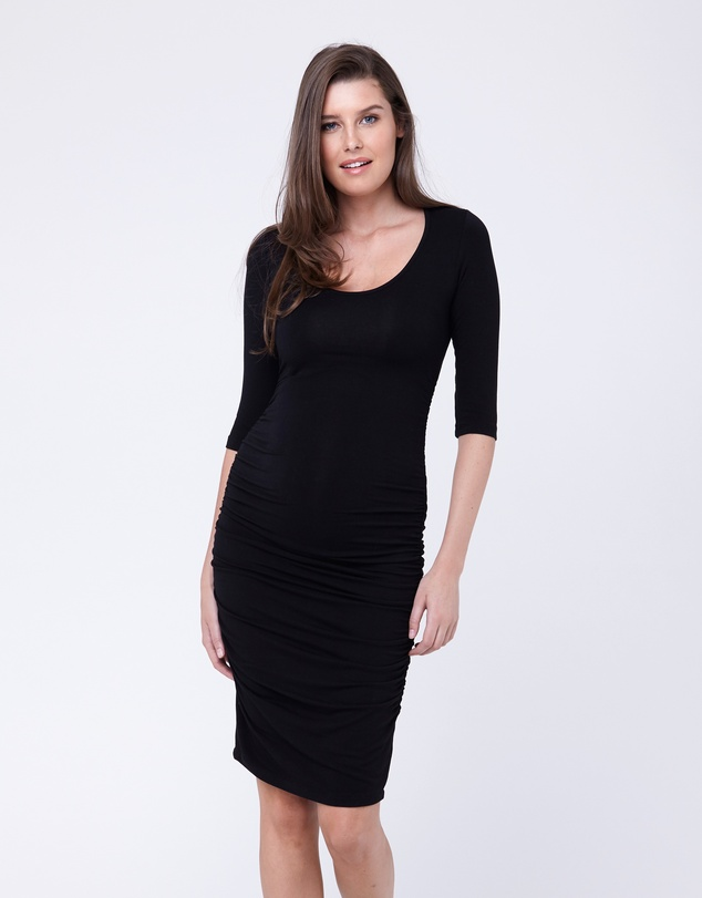 Ripe Maternity - Cocoon Elbow Sleeve Dress