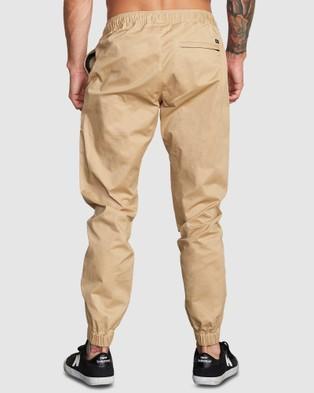 RVCA Spectrum Cuffed - Pants (CAMEL)
