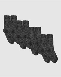 Boody Organic Bamboo Eco Wear - 4 Pack Work Boot Socks