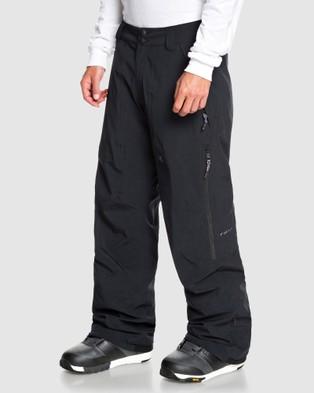 DC Shoes Mens Squadron Shell Snow Pant - Pants (Black)