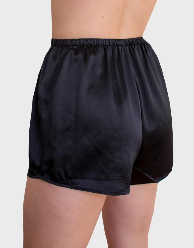 Women Silk Pyjama Short