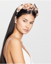 Morgan & Taylor - Rose Fascinator