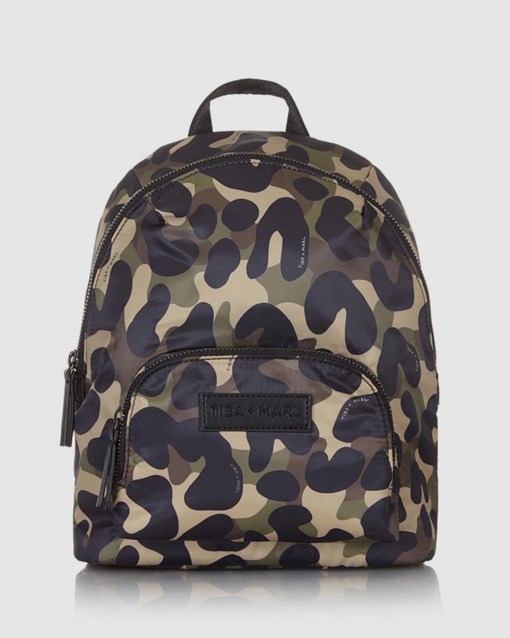 TIBA + MARL Mini Elwood Backpacks Camo
