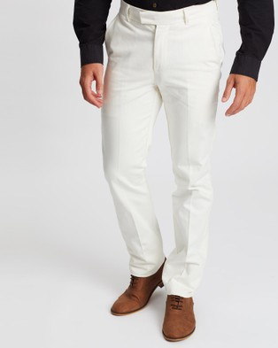 Gieves and Hawkes Denim Chinos - Jeans (White)