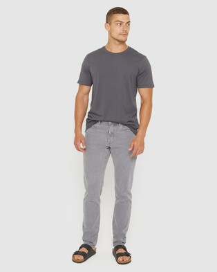Jag The Stanley Twill Pants - Jeans (grey)