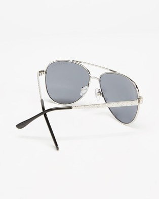 Mestige Cadence with Swarovski?« Crystals - Sunglasses (Silver)