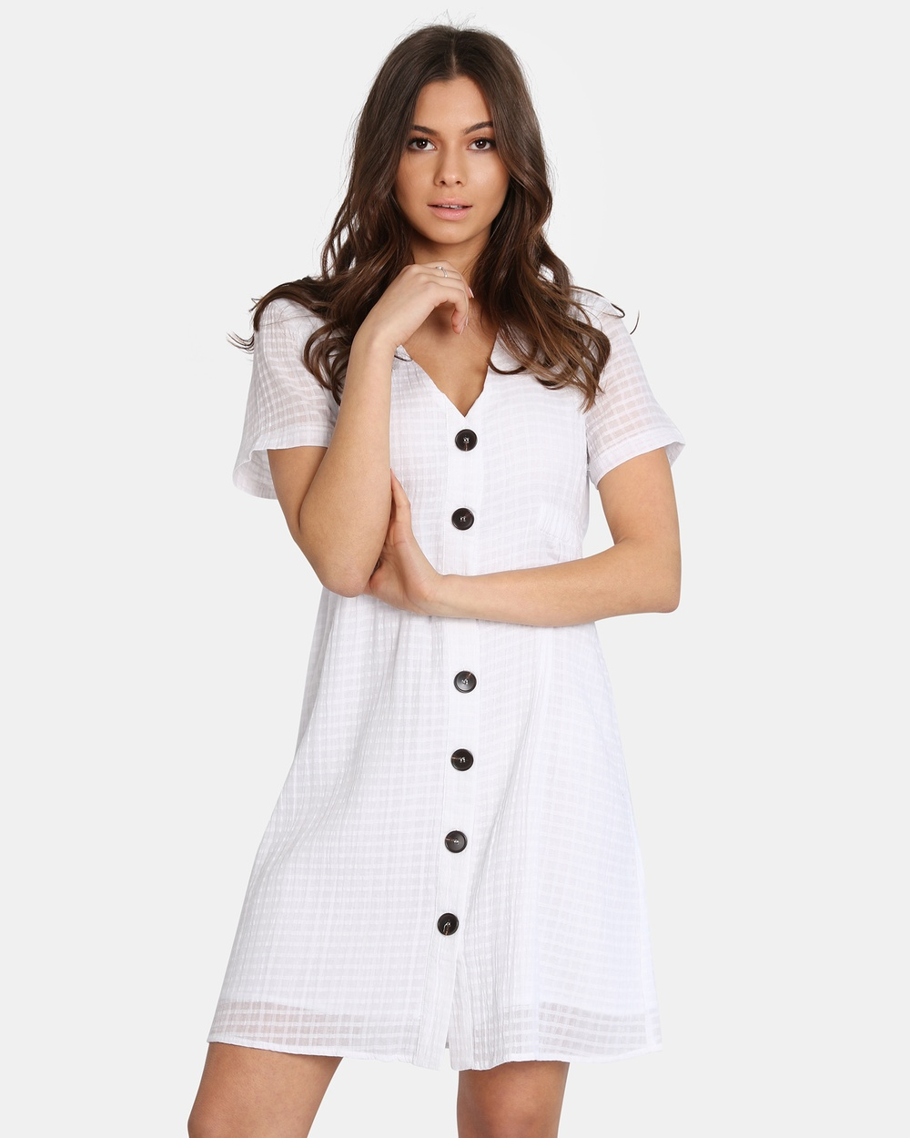 Madison Square Nelly Dress Dresses White Nelly Dress