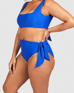 SAINT SOMEBODY Lovers In The Backseat - Briefs (Blue)