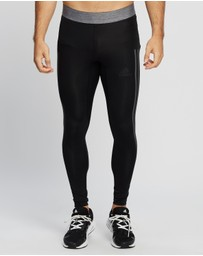 adidas Performance - Alphaskin 3-Stripes Long Tights