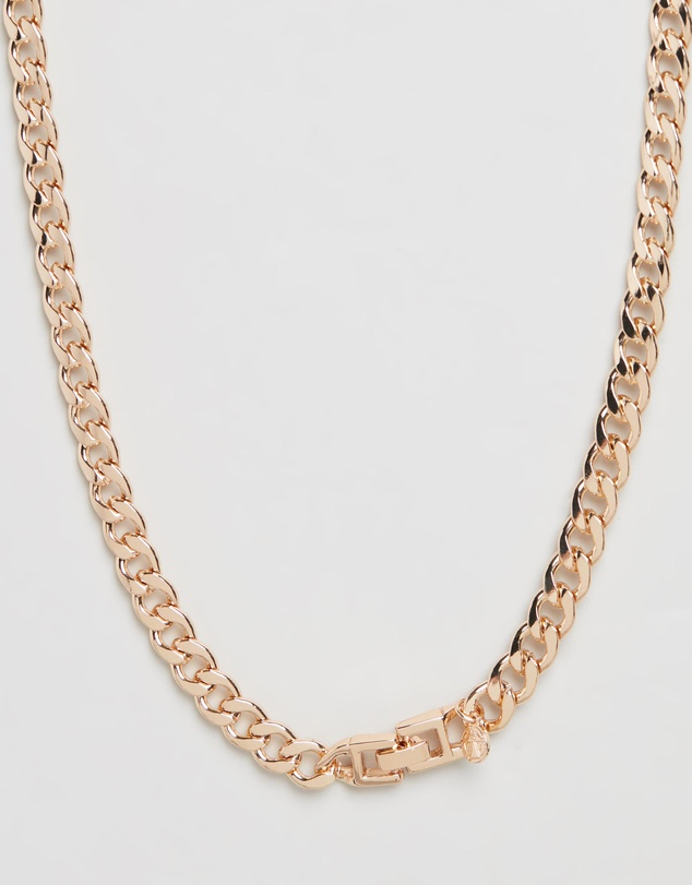 Women Cuban Link Chain Necklace