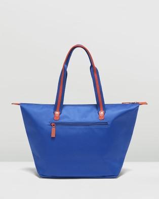 Lipault Paris Lady Plume Bi Colour Tote Bag Medium - Bags (Blue)