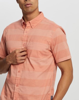 Patagonia Lightweight Bluffside Shirt - Casual shirts (Boll Stripe: Mellow Melon)