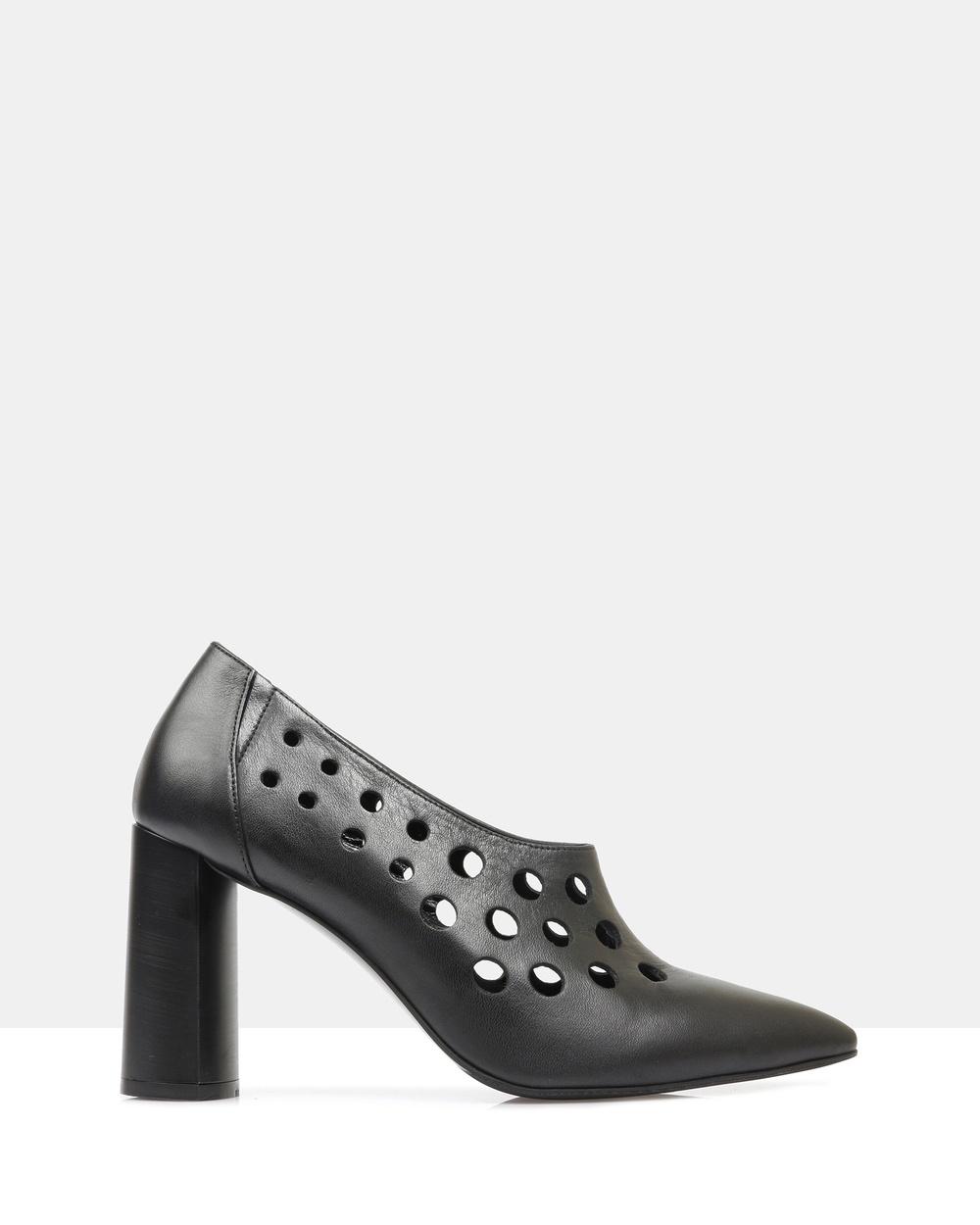 Sempre Di Imiza Heels Heels 901- 54 Black Imiza Heels