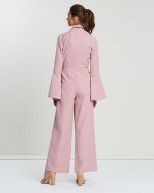 Loreta Gin & Tonic Jumpsuit - Jumpsuits & Playsuits (Pink-Purple)