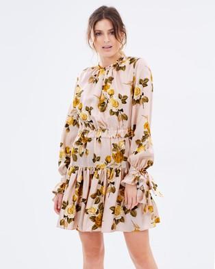 Lover – Albertine Mini Dress – Dresses (Dusty Rose)