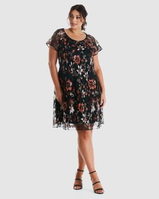 Estelle Autumn Garden Dress - Printed Dresses (Print)