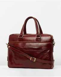 Republic of Florence - The London Brown Briefcase
