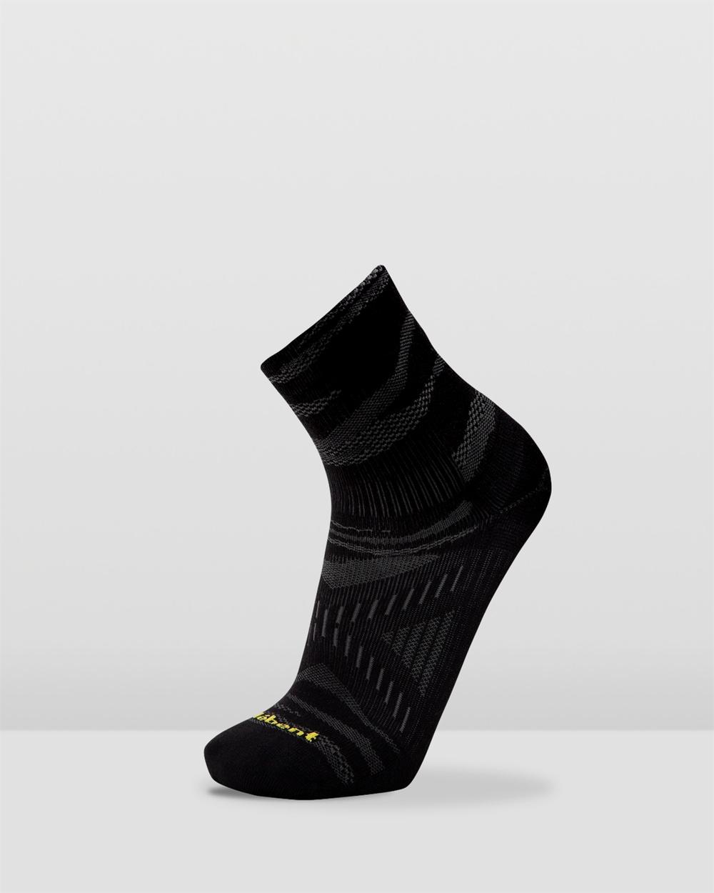 Le Bent Trail Ultra Light Mini Socks Ankle Black