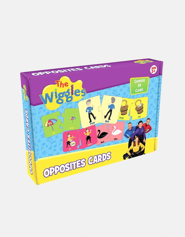 Kids The Wiggles Opposite Boxed Cards