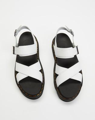 Dr Martens Voss II Sandals   Women's - Sandals (White Hydro)