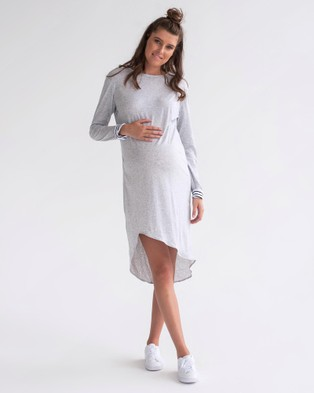 legoe – Grammar Dress – Dresses (Grey Marle)