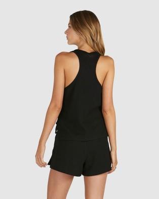 Chosen By Tuchuzy - Waffle Tank T-Shirts & Singlets (Black)