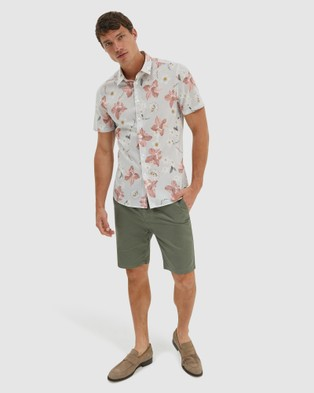 SABA Thomas Chino Shorts - Chino Shorts (green)