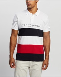 Tommy Hilfiger - WCC Branded Colourblock Polo