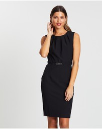 Forcast - Emery Pleat Neck Dress