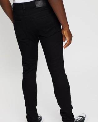 Diesel D Istort Skinny Jeans - Jeans (Black)