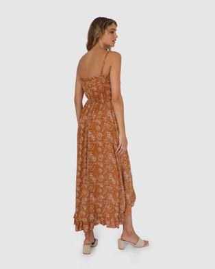 Lost in Lunar  Madelyn Maxi Dress - Dresses (Leaf)