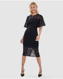 Cooper St - Giselle Flutter Lace Dress