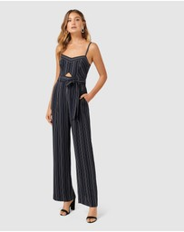 Forever New - Sunday Stripe Jumpsuit