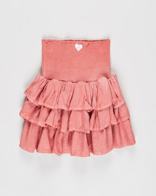 Eve's Sister Supple Washed Shirt   Kids - Tops (Pink)